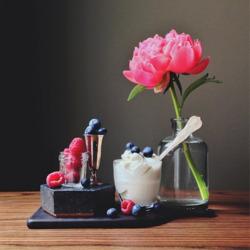 Пазл онлайн: Легкий десерт