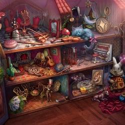 Пазл онлайн: Кукольный дом