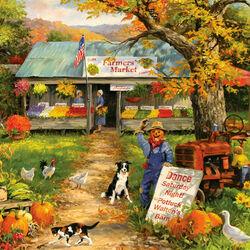 Пазл онлайн: Фермерский магазин