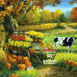 Пазл онлайн: Фермерские товары