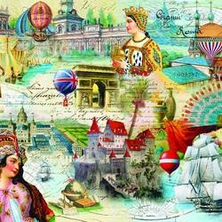 Пазл онлайн: История и география