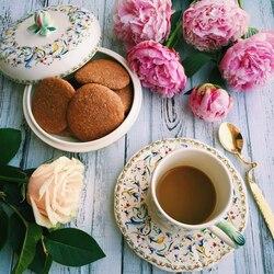 Пазл онлайн: Кофе и печеньки