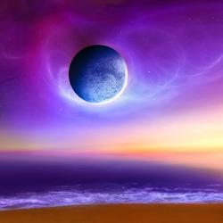 Пазл онлайн: Загадочная планета