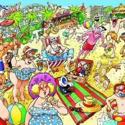 Пазл онлайн: Очень веселые праздники