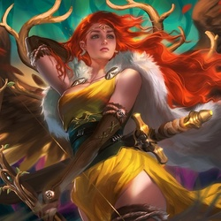 Пазл онлайн: Артемида, богиня охоты