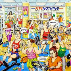 Пазл онлайн: Фитнес клуб