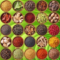 Пазл онлайн: Индийские специи