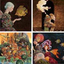 Пазл онлайн: Картины James C. Christensen.