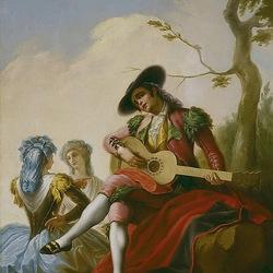Пазл онлайн: Гитарист