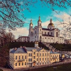 Пазл онлайн: Вид города Витебска