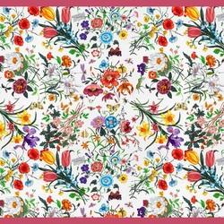 Пазл онлайн: Яркий платок