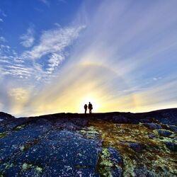 Пазл онлайн: На вершине горы