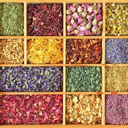 Пазл онлайн: Цветочный чай