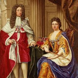 Пазл онлайн: Королева Анна и принц Георг