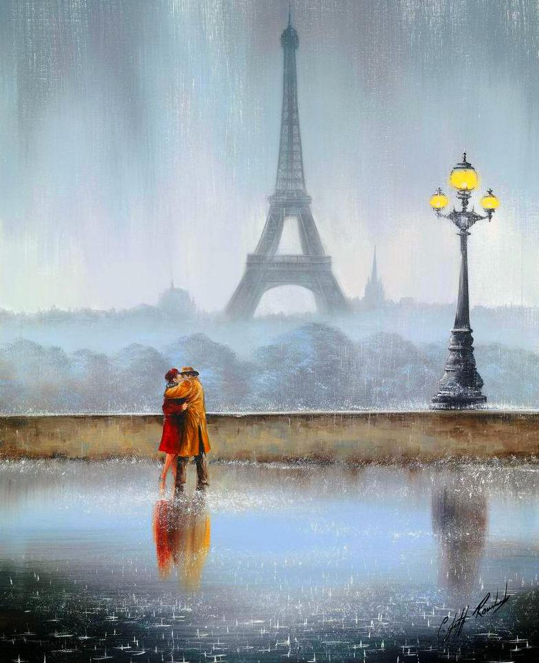 него просто картинки дождя в париже вам