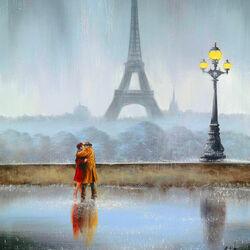 Пазл онлайн: В объятиях Парижа