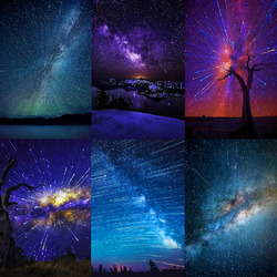 Пазл онлайн: Звездный дождь