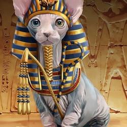 Пазл онлайн: Фараон