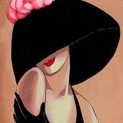 Пазл онлайн: Дамы в шляпках
