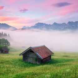 Пазл онлайн: Опять туман