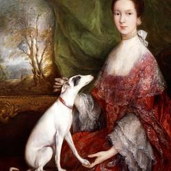 Пазл онлайн: Портрет Элизабет Джексон