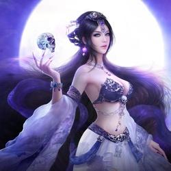 Пазл онлайн: Темная магия