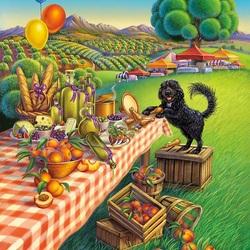 Пазл онлайн: Праздник Урожая