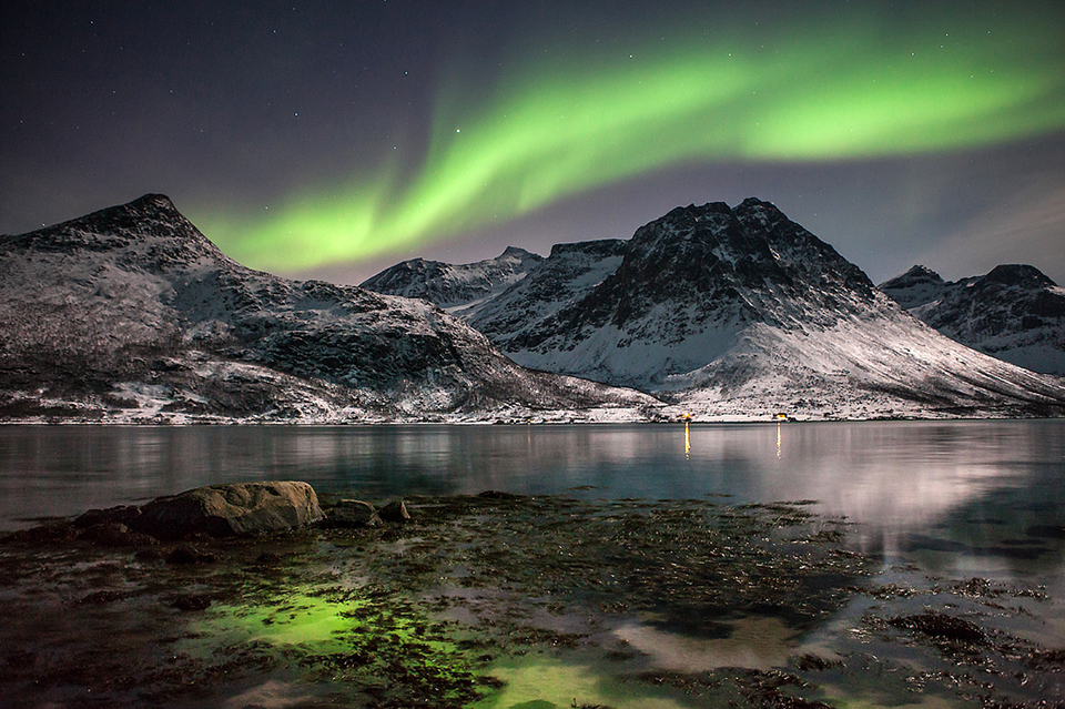 верхней норвегия северное сияние картинки мороз предпочитает
