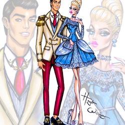 Пазл онлайн: Золушка и принц Чарминг