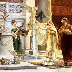 Пазл онлайн: Римская свадьба