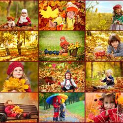Пазл онлайн: Это осень
