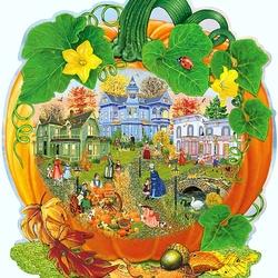 Пазл онлайн: Урожайный год