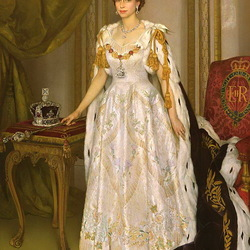Пазл онлайн: Елизавета II