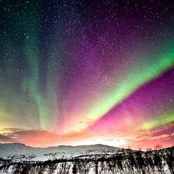 Пазл онлайн: Поющее северное сияние