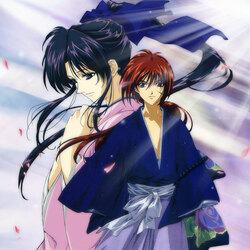 Пазл онлайн: Кенсин и Каору