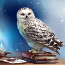 Пазл онлайн: Письмо из Хогвартса / A letter from Hogwarts.