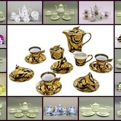 Пазл онлайн: Чайный набор