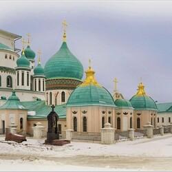 Пазл онлайн: Подземная церковь в Новоиерусалимском монастыре