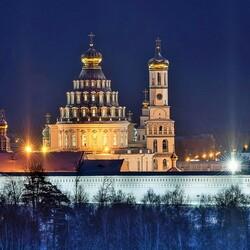 Пазл онлайн:  Новоиерусали́мский монастырь