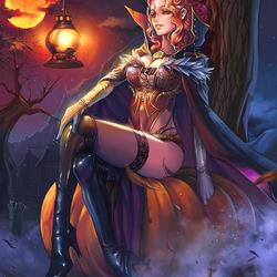 Пазл онлайн: Ведьма Мирабель