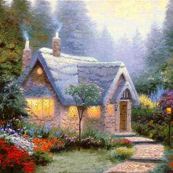 Пазл онлайн: Каменный дом