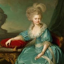 Пазл онлайн: Супруга императора Франца I