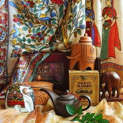 Пазл онлайн: Индийский чай