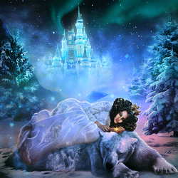 Пазл онлайн: Волшебная зима