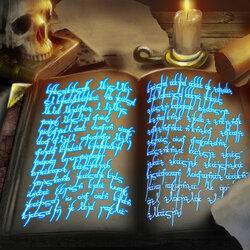 Пазл онлайн: Книга заклинаний
