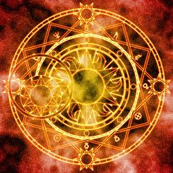 Пазл онлайн: Волшебный круг Аполлонии Ли
