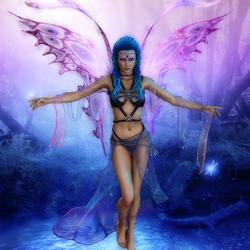 Пазл онлайн: Королева лесных фей