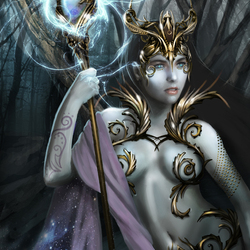 Пазл онлайн: Королева Темнолесья