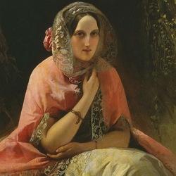 Пазл онлайн: Великая кн. Мария Николаевна