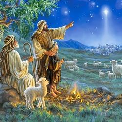 Пазл онлайн: Пастухи